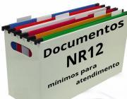 DOCUMENTOS MÍNIMOS PARA ATENDIMENTO À NR-12